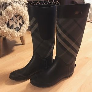 Burberry Weather Boots